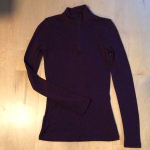 Icebreaker Body Fit base layer zip long sleeve 200
